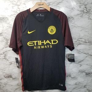 Nike Manchester City Mens Soccer Jersey Sz S New